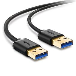 UGREEN USB 3.0 A to A Cable Type A Male to Male Cable Cord f
