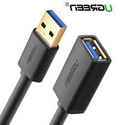 Ugreen USB 3.0 Cable Super Speed USB Extension Cable USB 2.0