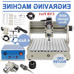 USB port 4 AXIS 3040T CNC ROUTER ENGRAVER ENGRAVING CUTTER D
