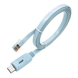 USB Console Cable USB to RJ45 Cable Essential Accesory of Ci