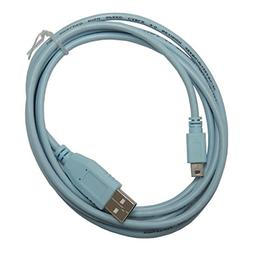 EDIMS 6FT USB to Mini USB Network Routers Cable CAB-Console-