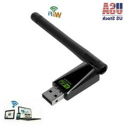 3pcs USB Wifi Router Adapter Network LAN Card Plug & Play Fr
