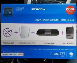 Linksys Wi-Fi All-In-One DOCSIS Cable Modem + AC1600 Router