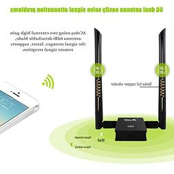ProCIV Wifi Adapter, 1200Mbps Long Range USB 3.0 Wireless Wi