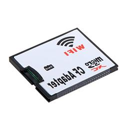 SODIAL WIFI Adapter Memory Card TF Micro-SD to CF Compact Fl