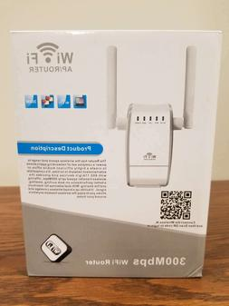 Wifi AP/Router 300Mbps Model: U5 white antenna