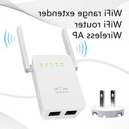 WiFi booster Astarye Wireless Repeater 300Mbps WiFi Signal A