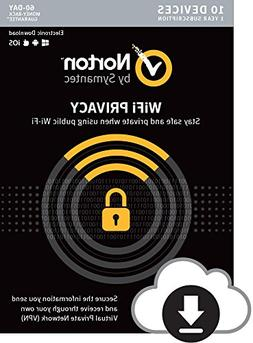 Norton WiFi Privacy – Secure VPN – Up to 10 Devices
