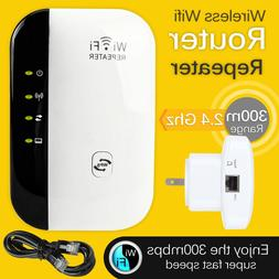 Wifi Range Extender Repeater Wireless Amplifier 300Mbps Rout