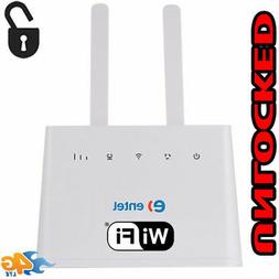 WiFi Router 4G LTE Unlocked Huawei B310s-518 CPE 150Mbp Wire