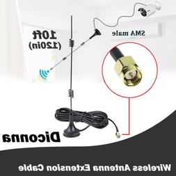 WiFi Router Antenna Extension Cable Wire Connectorfor Wirele