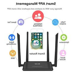 MECO WiFi Router Booster Extender Support Smart APP Manageme