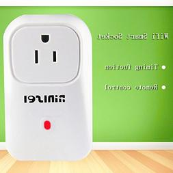 NINISEI 2g/3g/4g Wifi Smart Socket/Plug, US Plug Turn On/Off