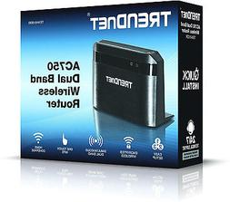 TRENDnet Wireless AC750 Dual Band Router, TEW-810DR by TREND