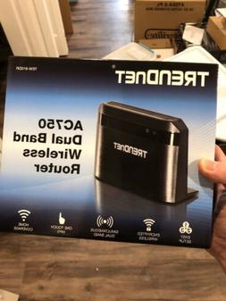 TRENDnet Wireless AC750 Dual Band Router, TEW-810DR NEW!!