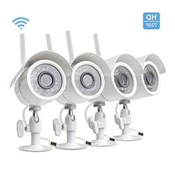 Wireless Camera Security System 4 Channel,1080P Home Video S