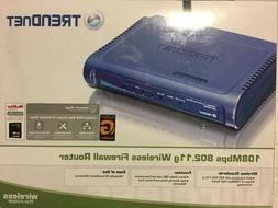 TRENDnet 108Mbps Wireless Super G Broadband Router