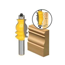 """Wood Working 1/2"""" Shank Router Bit Architectural Molding Tri"""