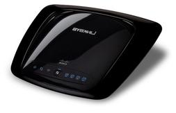 Linksys WRT160N 802.11b/g/n Wireless Broadband Router up to