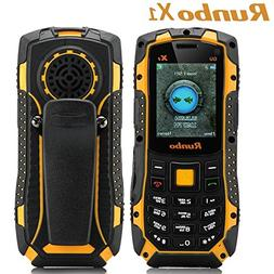 Runbo X1 Ip67 Rugged Water Dust Shock Proof Mobile Cell Phon